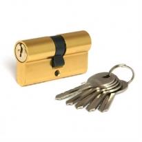Цилиндровый механизм Adden Bau Cyl 5-60 Key Gold, Золото; Ключ-Ключ