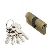 Цилиндровый механизм Adden Bau Cyl 5-60 Key Bronze, Бронза; Ключ-Ключ