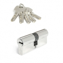 Цилиндровый механизм Adden Bau Cyl 5-60 Key Chrome, Хром; Ключ-Ключ