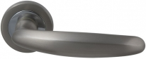 Ручка Дверная Mbc Elite (Roset) Матовый Никель/Хром
