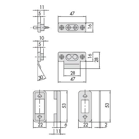 Контактная Группа Для Электромеханических Замков 06.510.10.0 Cisa