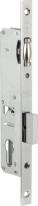 Корпус замка врезного цилиндрового Узкопроф.155/P (25 Mm) W/B (Никель) Б/Ответ.Планки Kale-Kilit