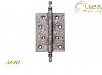 Петли Дверные Class В 5010 102X76X3,5 Мм Старинное Серебро Матовое + Коричневый