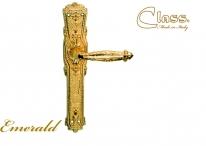 Ручка Дверная На Планке Class 1070 Emerald Pass Золото 24 К