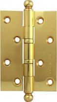 Петля дверная универсальная Melodia 522 A Полированная латунь 102х75х2,8 мм