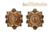 Дверная завертка Melodia Wc на овальной розетке Z Матовая бронза