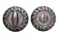 Дверная завертка Melodia Wc 60 Мм Античное серебро