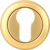 Дверная накладка Melodia Cyl 50 V Полированная латунь