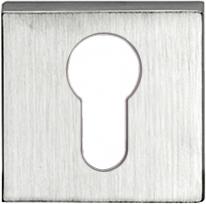 Дверная накладка Melodia Cyl Хром матовый (Zinc)