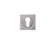 Дверная накладка Melodia Cyl Хром матовый/Хром (Zinc)