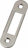 Agb B01000.40.06 Ответная Планка для дверей с четвертью (Никель)
