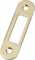 Agb B01000.40.03 Ответная Планка для дверей с четвертью (Латунь)