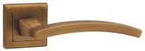 Ручка дверная на квадратной розетке Punto Navy Ql Cf-17 Кофе
