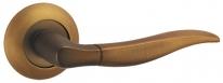 Ручка дверная на круглой розетке Punto Pelican Tl Cf-17 Кофе