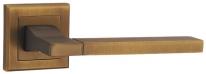 Ручка дверная на квадратной розетке Punto Tech Ql Cf-17 Кофе