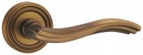 Ручка дверная на круглой розетке Punto Vento Ml Cf-17 Кофе