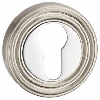 Накладка под цилиндр Punto Et Ml Sn/Cp-3 Матовый никель/Хром