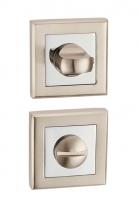 Дверная завертка Punto Bk6 Ql Sn/Cp-3 Матовый никель/Хром