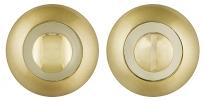 Дверная Завертка Punto Bk6 Tl Sg/Gp-4 Матовое Золото/Золото