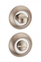 Дверная завертка Punto Bk6 Tl Sn/Cp-3 Матовый никель/Хром