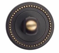 Фиксатор поворотный Venezia WC-1 D3 темная бронза