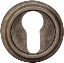 Дверная Накладка Melodia Cyl 50 V Античное Серебро