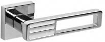 Ручка Раздельная Fuaro Quattro Dm Cp/Wh-19 Хром/Белая