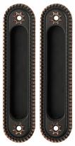 Ручка Для Раздвижных Дверей Armadillo Sh010/Cl Abl-18 Темная Медь