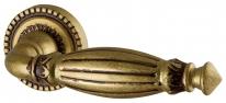 Ручка дверная на круглой розетке Armadillo Bella Cl2-Fg-10 Золото французское