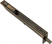 Ригель дверной латунный Corona 200 Мм Античная бронза