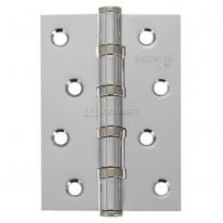 Петля дверная универсальная  Adden Bau 100х70х2.5 4BB POLISH CHROME, Хром