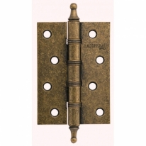 Петля дверная универсальная  Adden Bau Vitage 100х70х2.5 4W AGED BRONZE, Античная бронза