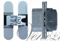KUBICA 6200 DXSX, CR.SAT петля скрытая универсальная Матовый хром (57 kg)