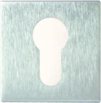 Дверная накладка Melodia Cyl Матовый хром (Fixa)