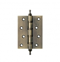 Петля дверная универсальная Corona Crown 100х75х3 мм, Матовая бронза