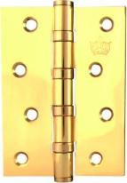 Петля дверная универсальная Corona Flat  Полированная Латунь