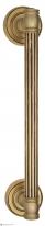 Ручка дверная скоба Venezia Impero 320мм (260мм) французское золото + коричневый