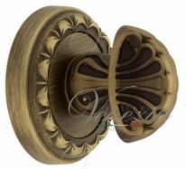 Фиксатор поворотный Venezia WC-4 D2 матовая бронза