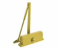 Доводчик №4S 80-120 кг Золото Морозостойкий Противопожарный Дверной доводчик,Нора-М