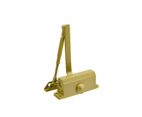 Доводчик №2S F (До 50Кг) (Золото) Морозостойкий с фиксацией,Нора-М