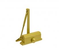 Доводчик №3S F Бол(До80Кг)(Золото) Морозостойкий с фиксацией