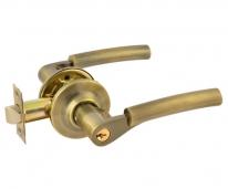 Аа-01 (Застаренная Бронза) Защелка межкомнатная (Ключ/Фиксатор),Нора-М