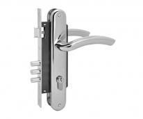 Комплект дверной Нора-М n23-85 М (Хром)