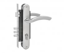 Комплект дверной Нора-М N96-85 M (Хром матовый )