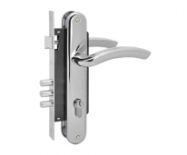 Комплект дверной Нора-М N96-85 M (Хром)