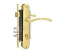 Комплект дверной Нора-М N100-85 M (Золото матовое )