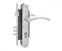 Комплект дверной Нора-М N100-85 M (Хром матовый )