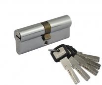 Цилиндровый механизм Нора-М Лпу.Ук-80 (Хром) (40-40)