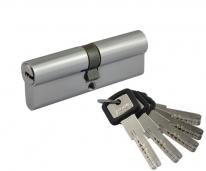 Цилиндровый механизм Нора-М Лпу.Ук-90 (Хром) (45-45)