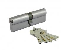 Цилиндровый механизм Нора-М Люкс Ii Лп-90 (Хром) (45-45) Перфорация